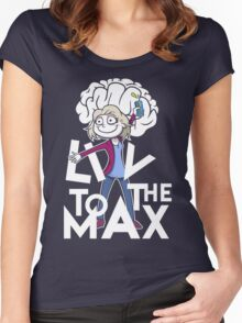 iZombie - Liv 2 the Max! Women's Fitted Scoop T-Shirt