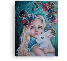 """Alice in Wonderland """"Lost in Wonderland"""" Canvas Print"""
