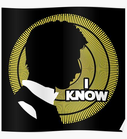 I Know... Poster
