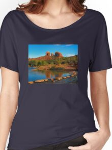 Cathedral Rock, Sedona Arizona Women's Relaxed Fit T-Shirt