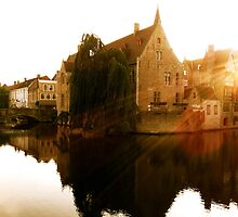 Peaceful Bruges by Jenny Wood