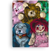 Comfort Toys Canvas Print