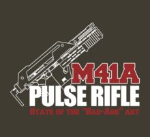 Alien Movie - M41a Pulse Rifle State of the Bad-Ass Art by metacortex