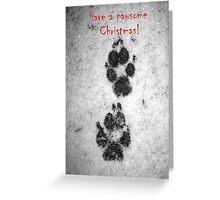Pawsome Christmas! Greeting Card
