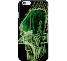 Green Faced iPhone Case/Skin