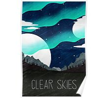 Tamriel Shout - Clear Skies Poster