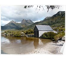 Dove Lake and Cradle Mtn Poster