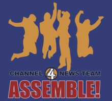 Anchorman - News Team Assemble by metacortex