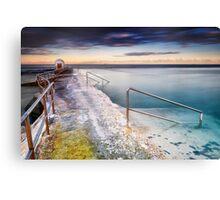 Merewether Ocean Baths Canvas Print