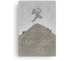 Tamriel Shout - Unrelenting Force Canvas Print
