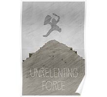 Tamriel Shout - Unrelenting Force Poster