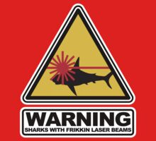 Austin Powers - Sharks with Frikkin Laser Beams by metacortex