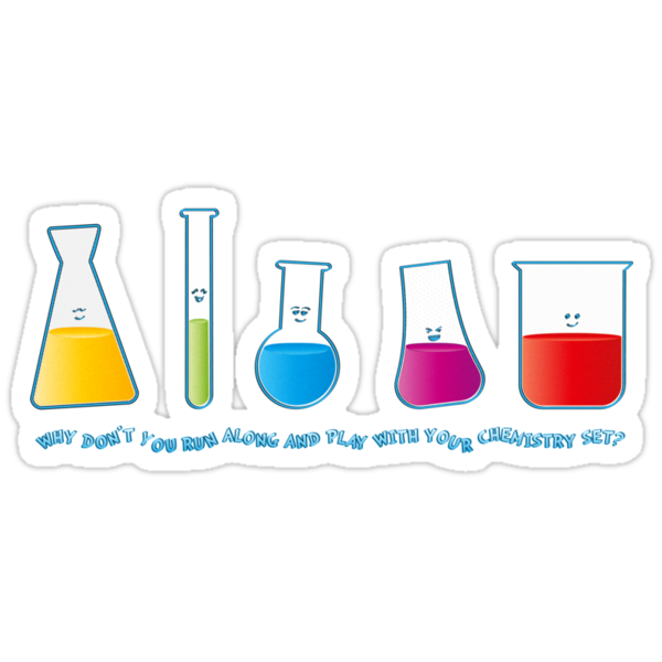 Play with your chemistry set by Emma Harckham