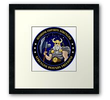 NROL-34  Program Logo Framed Print