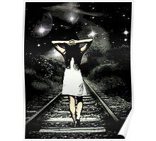 Walking Girl  Poster
