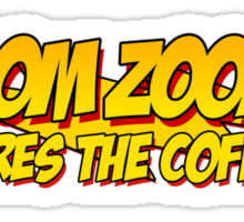 The Big Bang Theory - Zoom Zoom - Wheres the Coffee Sticker
