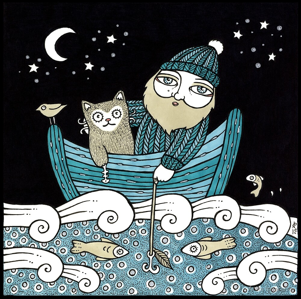 The Fisherman's Cat by Anita Inverarity