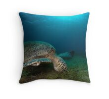 In the sea grass Throw Pillow