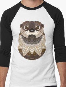 Ornate Otter Men's Baseball ¾ T-Shirt