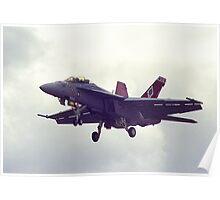 US F-A18 Hornet in Australia Poster