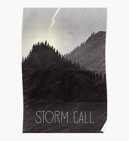 Tamriel Shout - Storm Call Poster