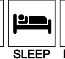 Eat Sleep Kenpo (Universal) Sticker