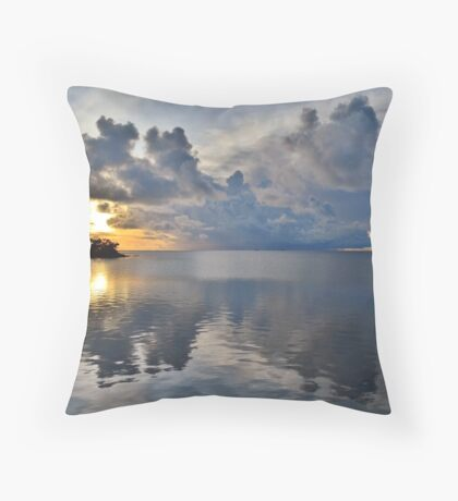 End Of Perfect Day Throw Pillow