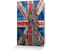 British Icons Greeting Card