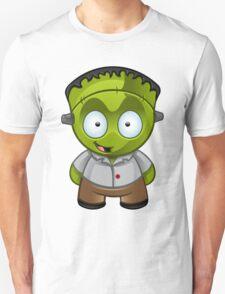 Frankenstein Monster Boy Grinning Unisex T-Shirt
