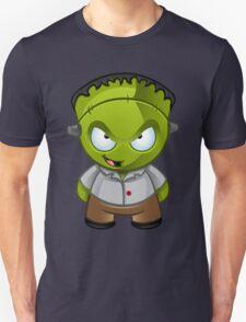 Frankenstein Monster Boy Naughty Grin Unisex T-Shirt