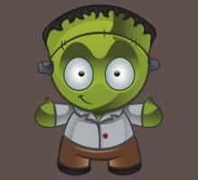 Frankenstein Monster Boy Smiling Kids Clothes