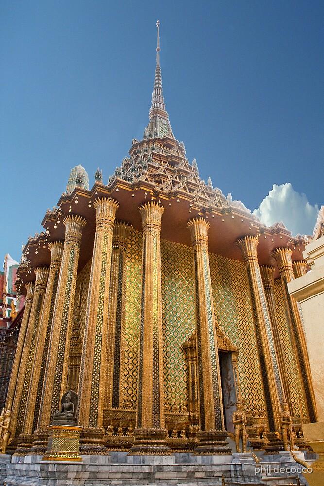 Golden Columns by phil decocco