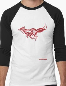 Turbo Fox Men's Baseball ¾ T-Shirt
