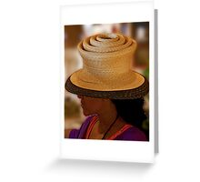 Hatter's Hat Greeting Card