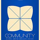 Community - Minimalist Movie Posters by WalnutSoap