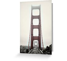 Golden Gate Front Greeting Card