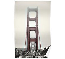 Golden Gate Front Poster