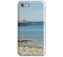 AT THE SEASIDE iPhone Case/Skin