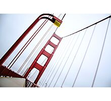 Golden Gate Abstract Photographic Print
