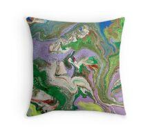 Grass Uprising Throw Pillow