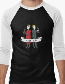 Suit Up Men's Baseball ¾ T-Shirt