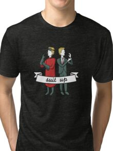 Suit Up Tri-blend T-Shirt