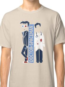 Spacemen (Red, White, and Blue) Classic T-Shirt