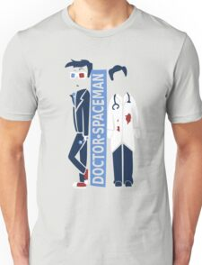 Spacemen (Red, White, and Blue) Unisex T-Shirt