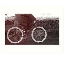 Fixie Bike Art Print