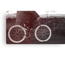 Fixie Bike Canvas Print