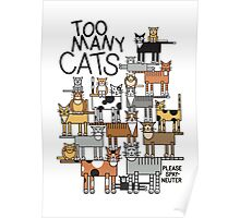 Too Many Cats Poster