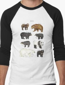 Bears Men's Baseball ¾ T-Shirt