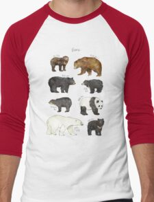 Bears Men's Baseball ¾ T-Shirt