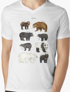 Bears Mens V-Neck T-Shirt